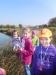 Druháci u rybníka