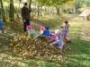 Hrátky s podzimním listí MŠ