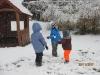 První sníh MŠ