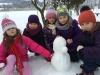Výtvarka na sněhu